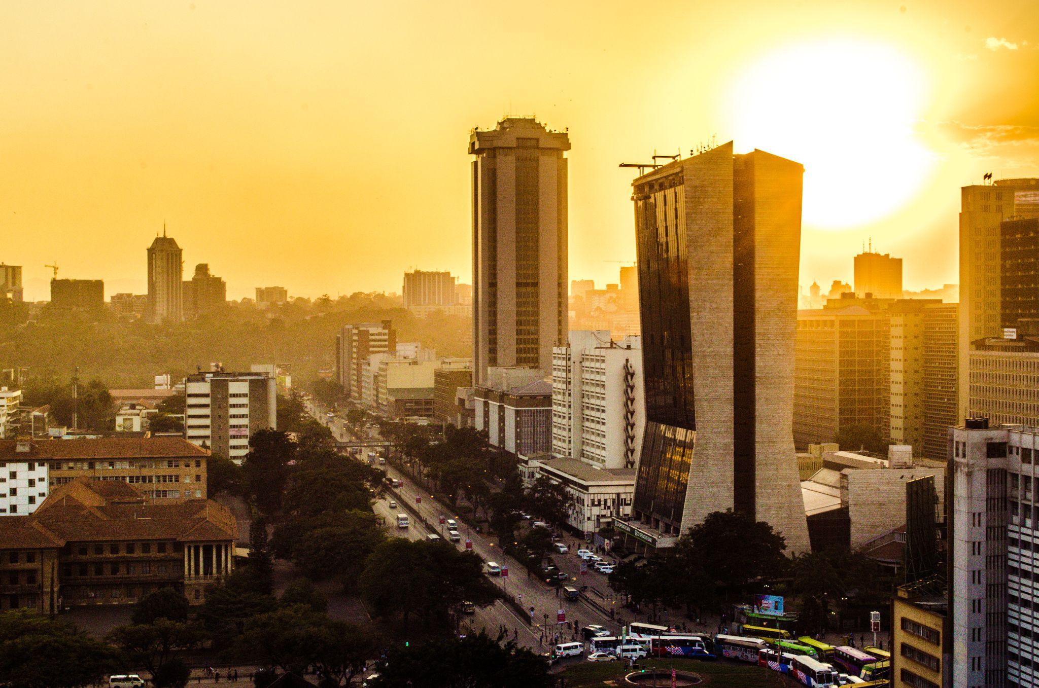 nairobi city 2021 view